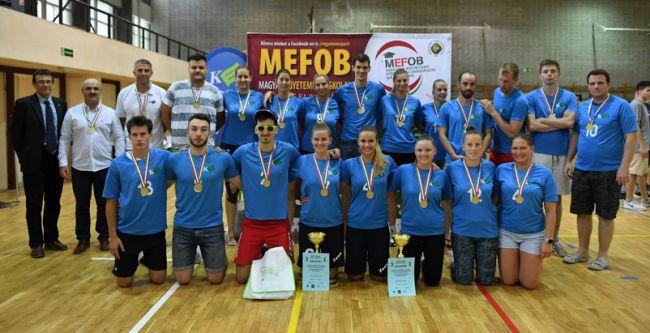 Teljes kaposvári siker a röplabda MEFOB-döntőn!