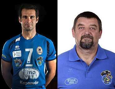 Geiger András az év játékosa, Demeter György az év edzõje