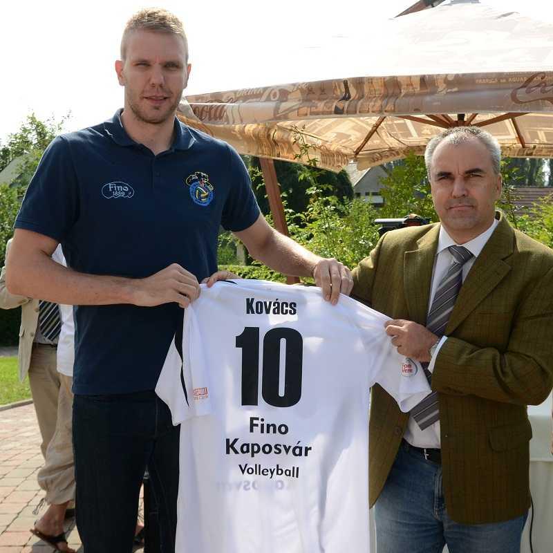 Kovács Zoltán nehéz szezonra számít a Közép-európai Ligában
